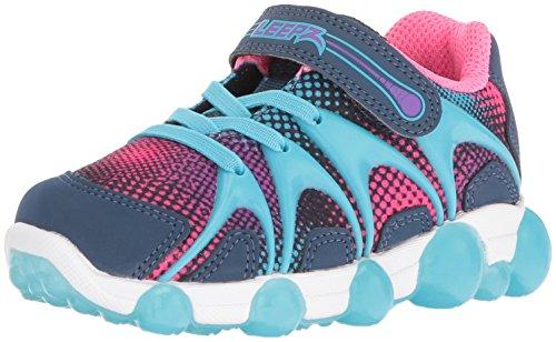 Stride Rite Leepz Sneaker, Navy, 9 M US (Stride Rite Girls Sneakers)