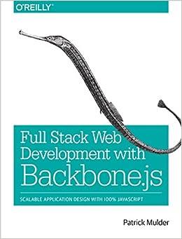 Web Development with Backbone.js