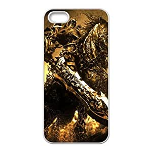 iPhone 5 5s Cell Phone Case White Darksiders Wrath of War O7J6BE