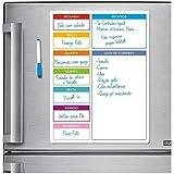 Ímã De Geladeira - Porta Recados - Planner - Escolha O Seu! (Colorido01)