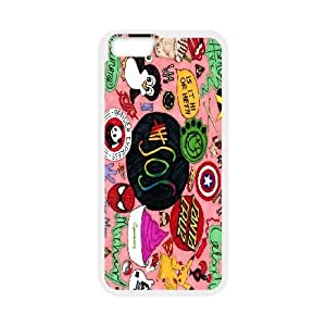 "AinsleyRomo Phone Case 5SOS music band series pattern case For Apple Iphone 6,4.7"" screen Cases FSQF691883"