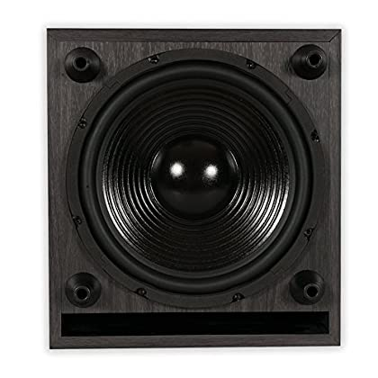 Image of Acoustic Audio PSW-10 400 Watt 10-Inch Down Firing Powered Subwoofer (Black)
