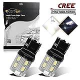 350z daytime running lights - Partsam 2pcs 6000K White Super Power 7443 7440 W21W Backup Light Reverse Lamps 1-Cree-XPE 5730 12SMD Daytime Running Light DRL Parking Light