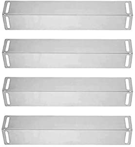 SN2151(4-Pack) Stainless Steel Heat Plate Replacement for BBQ Grillware GGPL-2100, GGPL2100,Charbroil 463210310, 463210511, 463211511, 463211512, 463211513, 463211514 and Others
