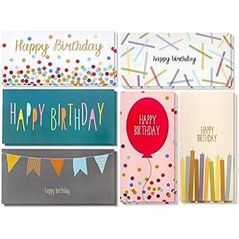 Amazon Juvale Birthday Card 36 Pack Birthday Cards Box Set