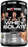 Six Star Pro Nutrition Elite Series 100% Whey Isolate Protein Powder, Decadent Chocolate, 1.50 Pound by Six Star