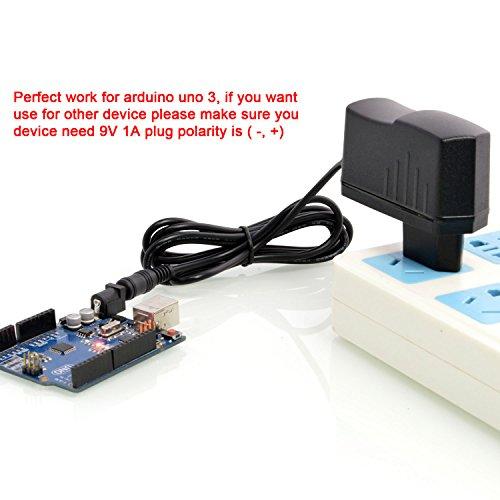 Arduino 3 9v Rev 2 Para 1000ma X Aukru® 5mm 5 1mm Uno Alimentador Cargador 4Zqpwxg1