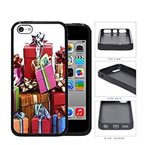 Gift Boxes With Ribbon And Bow Presentation Silicone Cell Phone Case Apple iPhone 5c