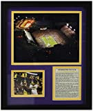 Legends Never Die Louisiana State Tigers Tiger Stadium Framed Photo Collage, 11 by 14-Inch