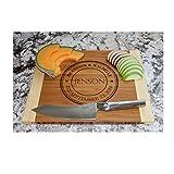 Personalized Wood Cutting Board 11x14