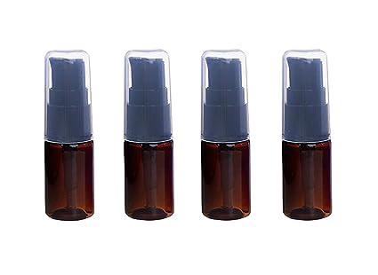 Amazon.com: 6 botellas de plástico vacías recargables de 10 ...