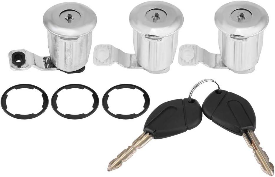 Broco 252522 Auto Tür Schließzylinder Set Mit Schlüssel For Peugeot Partner Citroen Berlingo Xsara 1 Auto