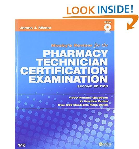 Pharmacy Technician Certification Examination: Amazon.com