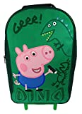 George Pig Dino Premium Wheeled Bag Green 11 Litres Review