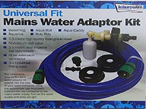 Waterhog Universal Water Mains Adapter fits other brands as well Leisurewize LWACC168