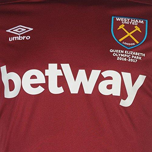 Umbro Mens 75310u West Ham Home S//S 16 Jersey