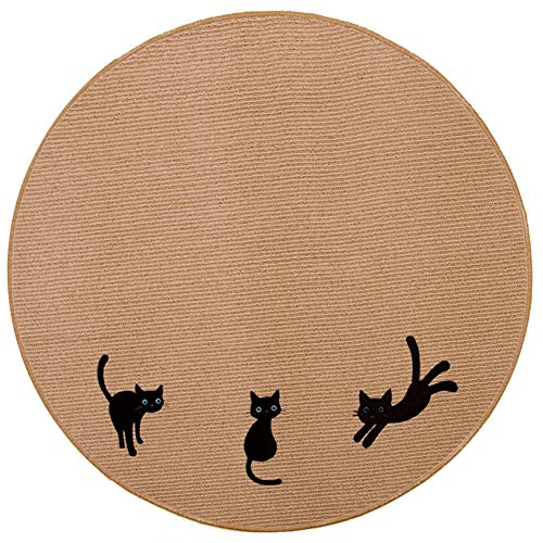 - CarPet Washable Round Computer Upholstery Table and Chair Cushion Door Mat Bedroom Bedside Sofa