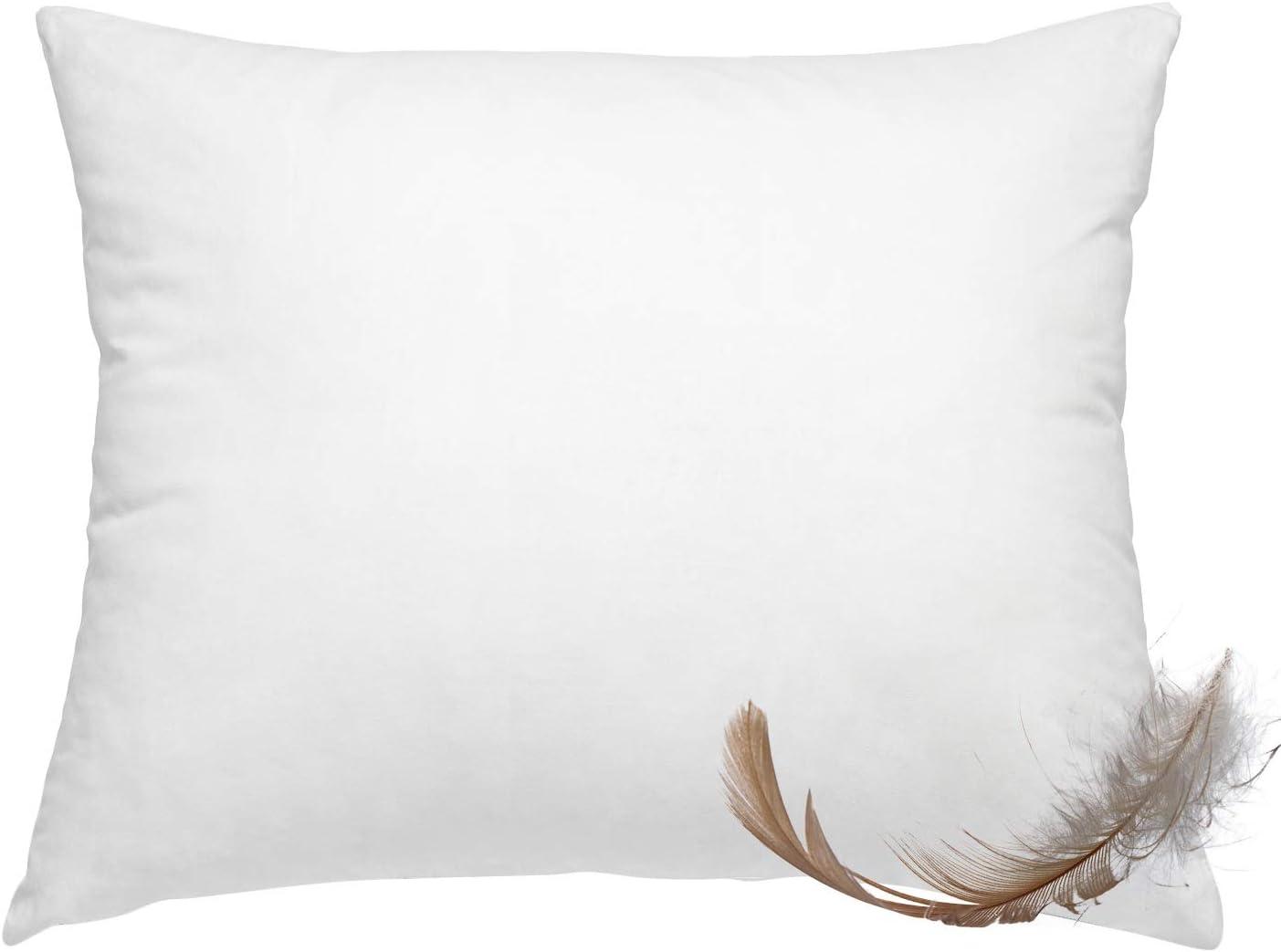 100/% Duck Feather Cushion Inner 50 x 50 cm