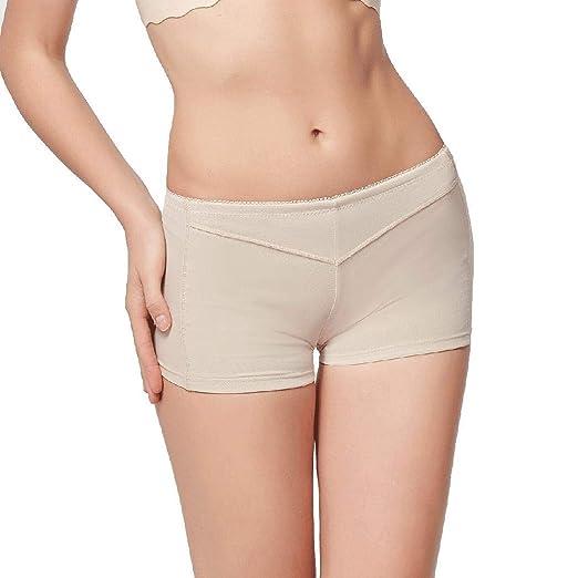 6446224eb vansop Women Butt Lifter Shaper Bum Lift Pants Buttocks Enhancer Boyshorts  Booty Briefs Briefs at Amazon Women s Clothing store