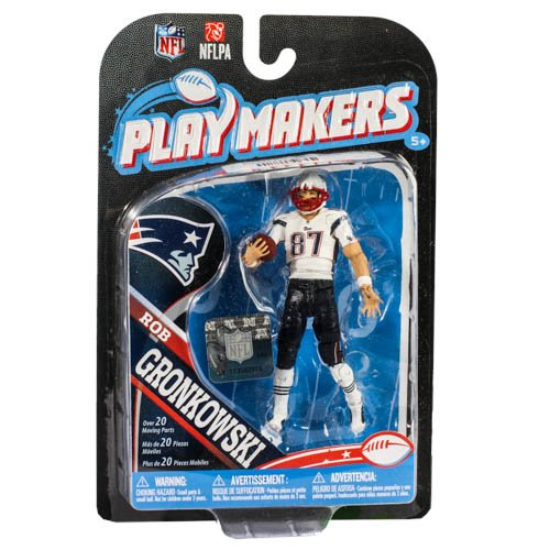 NFL New England Patriots 2013 Playmaker Series 4 Rob Gronkowski Action Figure by McFarlane