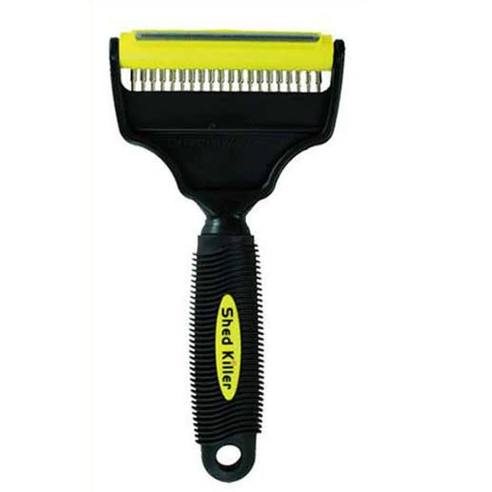 2 in 1 Sheding Brush,Pin Brush Pet Hair Removal Brush for Dog and Cat