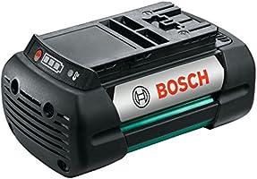 Bosch Rotak 37 LI - Máquina cortacésped inalámbrica (2 baterías ...
