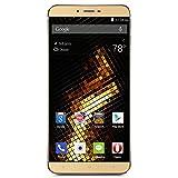 BLU Vivo 5 Unlocked Smartphone-5.5-Inch 4G LTE GSM-32GB Plus 3GB Ram, Gold (Canada Compatible)