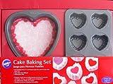 Wilton 2-Piece Valentine Cake Baking Pan Set
