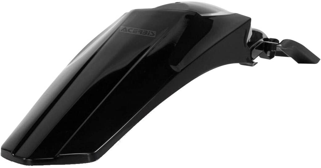 Black Acerbis 13766.09 Rear Mudguard