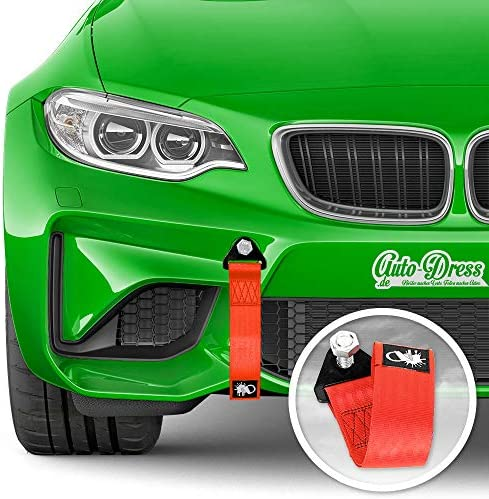 Auto Dress Rallye Drift Schlaufe Rennsport Motorsport Abschlepptau Tau Racing Hook Tow Strap Abschleppschlaufe Schlaufe Auto