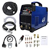 Plasma Cutter, CUT50 50 Amp 110V/220V Dual Voltage AC DC IGBT Cutting Machine with LCD Display and Accessories Tools
