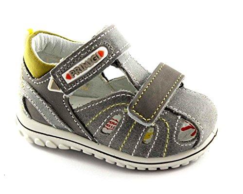 Gris Grigio Déchire Fermé Chaussures Sandales Talon Bébé Bout Primigi D'55521 fUS15Fx