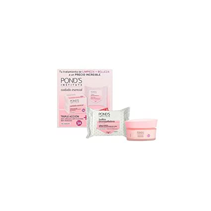 Ponds Essential Care - Crema hidratante, 2 piezas, ...