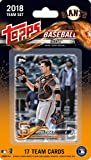 San Francisco Giants 2018 Topps Factory Sealed Special Edition 17 Card Team Set with Evan Longoria and Buster Posey Plus
