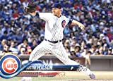 2018 Topps Series 2#643 Justin Wilson Chicago Cubs Baseball Card - GOTBASEBALLCARDS