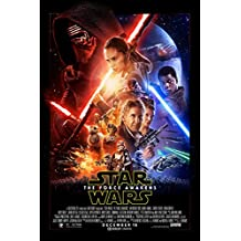 """Star Wars: The Force Awakens 12"""" x 18"""" Movie Poster (THICK) -"""