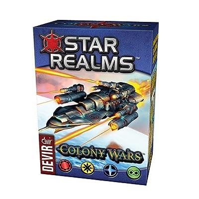 Devir–Star Realms–Colony Wars, Multicolor (1)