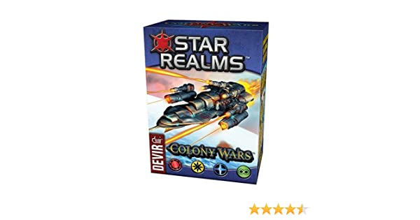 Devir- Star Realms - Colony Wars, Multicolor (1): Amazon.es: Juguetes y juegos