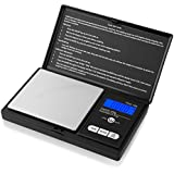 Weigh Gram Scale Digital Pocket Scale,100g by 0.01g,Digital Grams Scale, Food Scale, Jewelry Scale Black, Kitchen Scale (TOP-100)