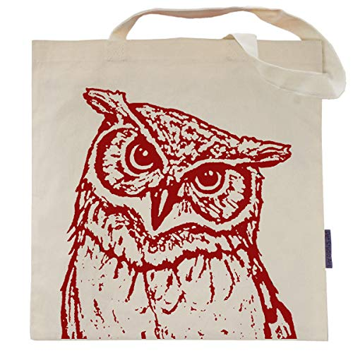 Rusty the Owl Tote Bag by Pet Studio Art -