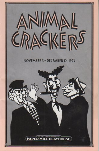 Animal Crackers Playbill 1993 Paper Mill Playhouse