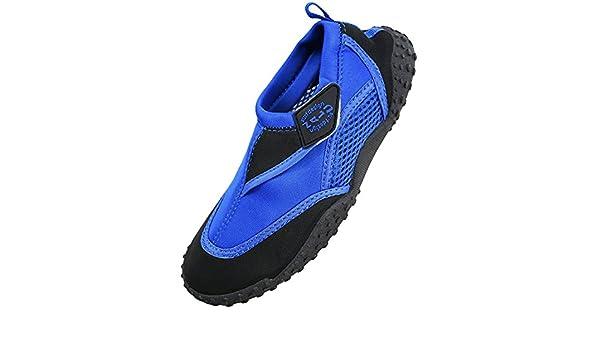 Nalu - Zapatillas de agua para adultos, color azul Talla:9