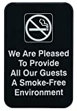 "Update International (S69-1BK) ""We Are Pleased To Provide All Our Guests A Smoke-Free Environment"""