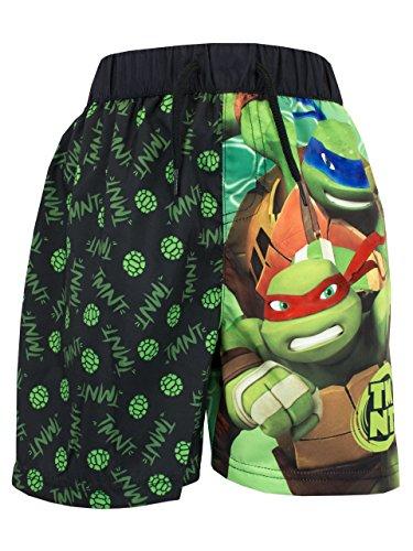 [TeenSize Mutant Ninja Turtles Boys TMNT Swim Shorts Size 8] (Ninja Turtle Suits)