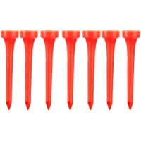 Snowwer 60mm Random Color Plastic Golf Tees (Pack of Approx. 50Pcs)