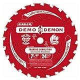 framing blades 10pack - Freud D0724DA Diablo 7-1/4-inch 24T Demo Demon Framing Demo Saw Blade, 10-Pack