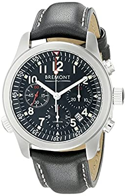 Bremont Men's Alt1-P/BK Analog Display Swiss Automatic Black Watch