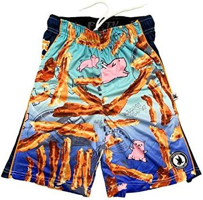 Flow Society Boys Big Laxing Chimp Attack Short