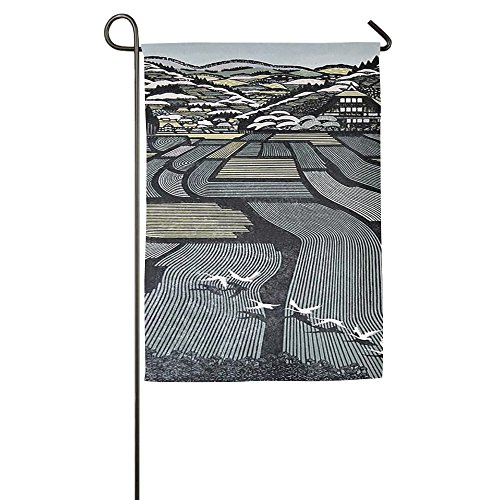 Country Field House Flags,Decorative Flags,Outdoor Flags,Yard Flag,Home Flag