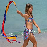 Fin Fun Mermaid Girls Swimsuit Cover Up Sarong